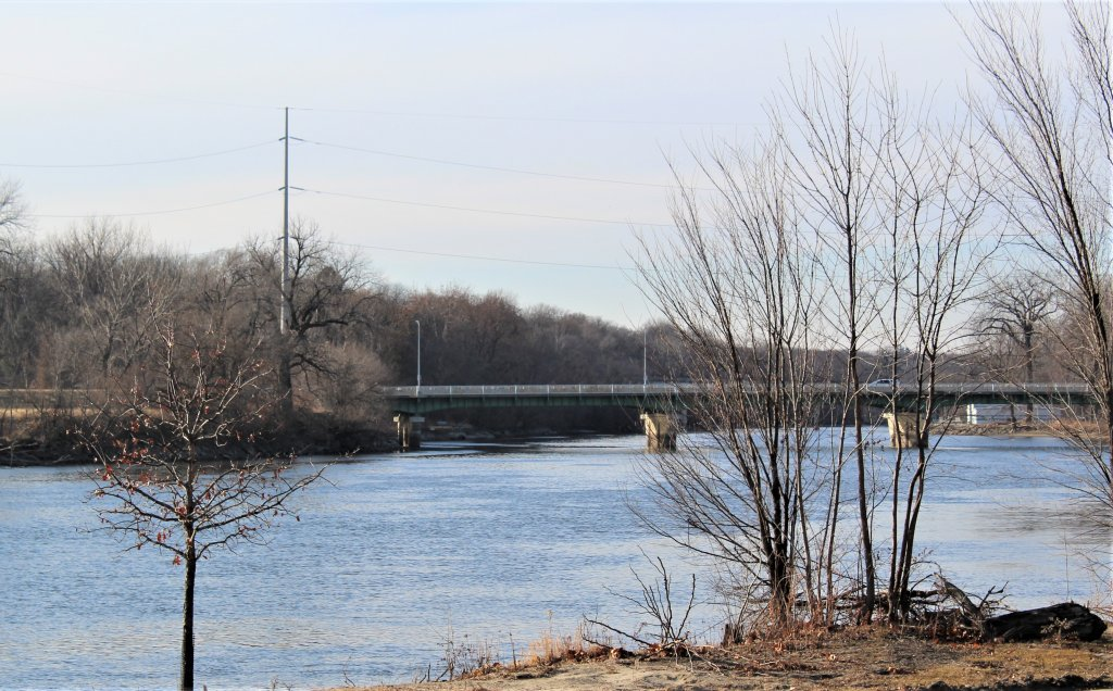 The Des Moines River in downtown Des Moines serves as a water supply and a growing recreational draw.