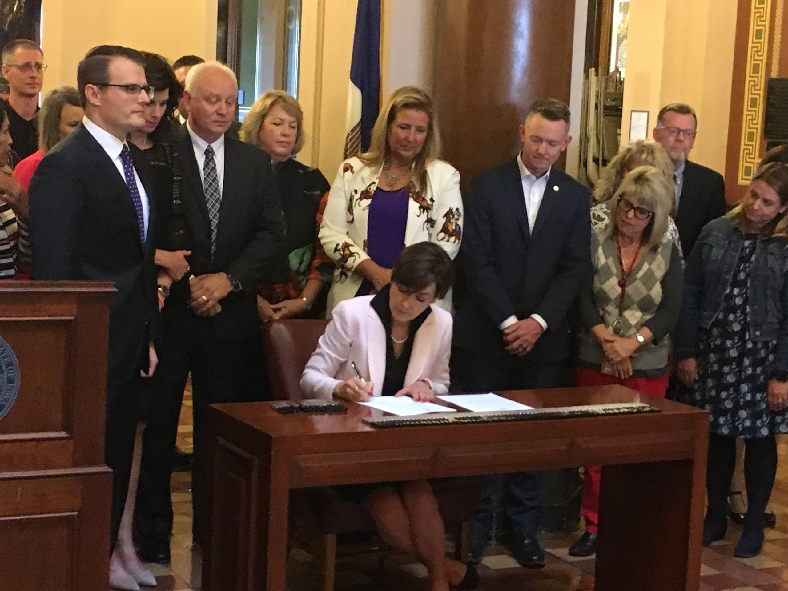 Governor signs mental health legislation
