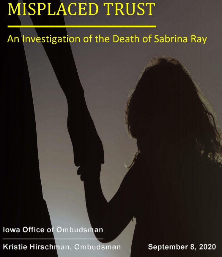 Report: DHS discouraged complaints, then failed to investigate Sabrina Ray's death