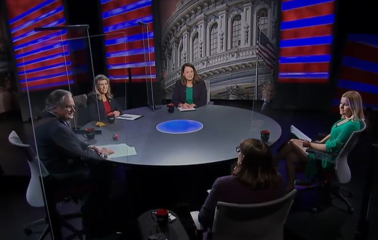 In heated first debate, Ernst and Greenfield clash on vacant court seat, mask mandate