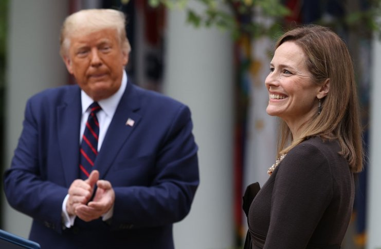 Trump picks Amy Coney Barrett for the Supreme Court, and D.C. girds for a fight