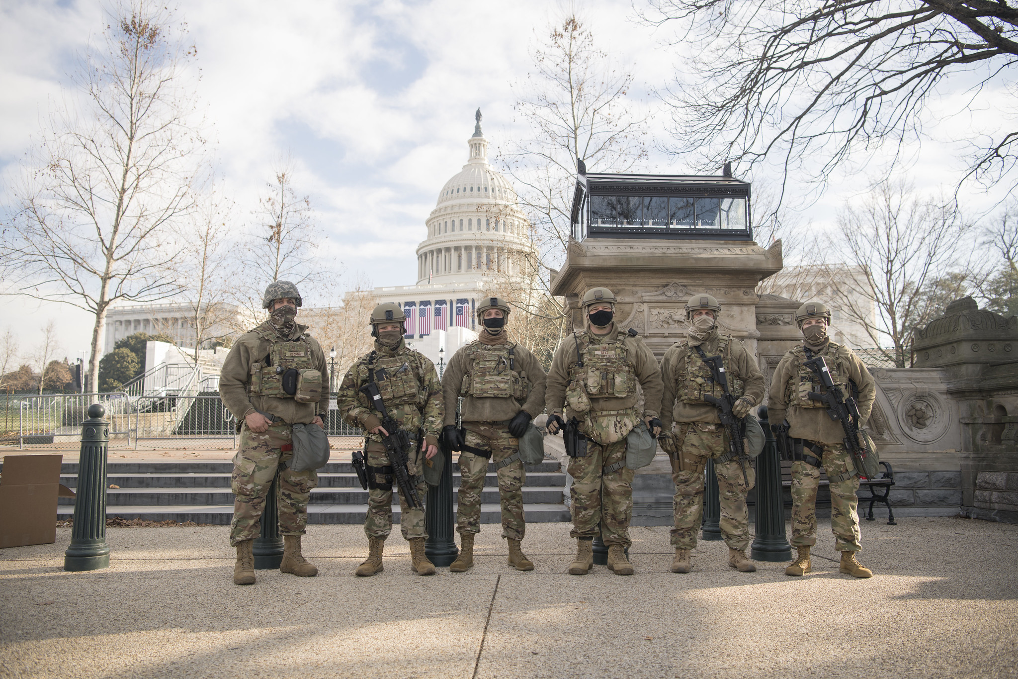 More than 21,000 Guard members from 50 states headed to D.C., and numbers may grow