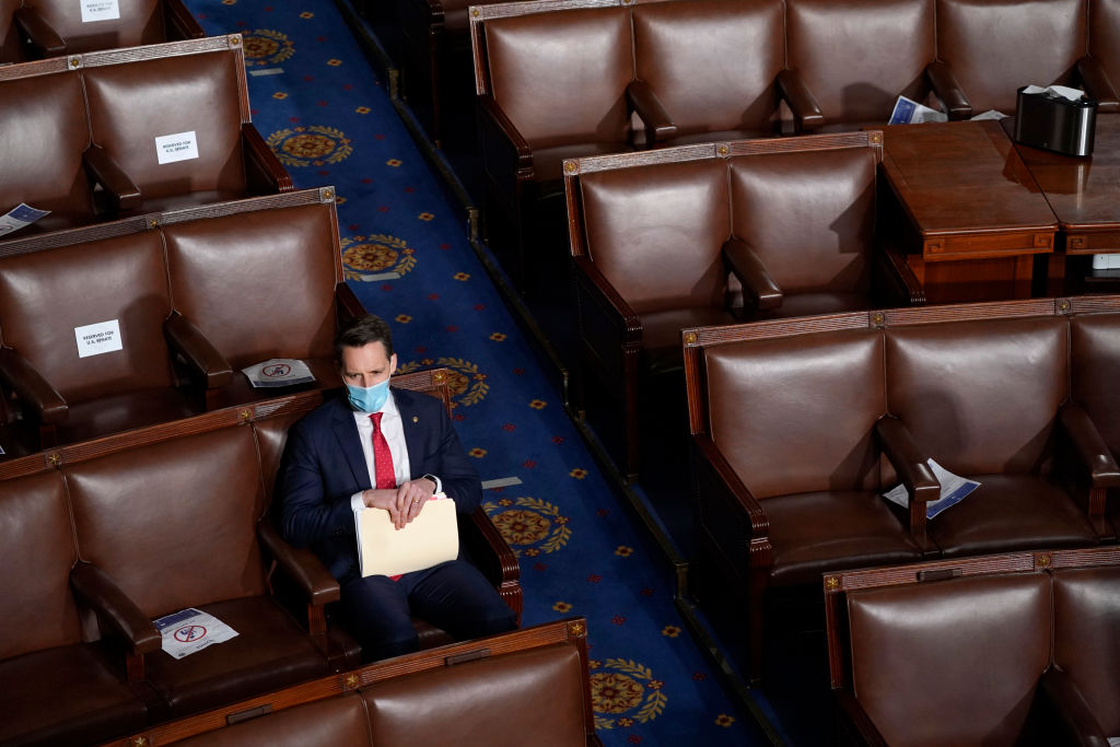 Hawley pushes ethics probe of U.S. Senate Democrats who filed complaint against him
