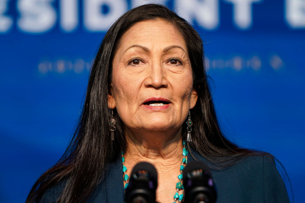 Haaland faces GOP critics at her Interior confirmation hearing