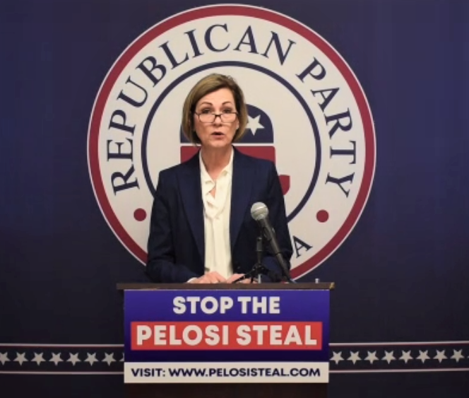 Governor accuses Pelosi of trying to steal 2nd District seat; Pelosi says she wants to be 'fair'