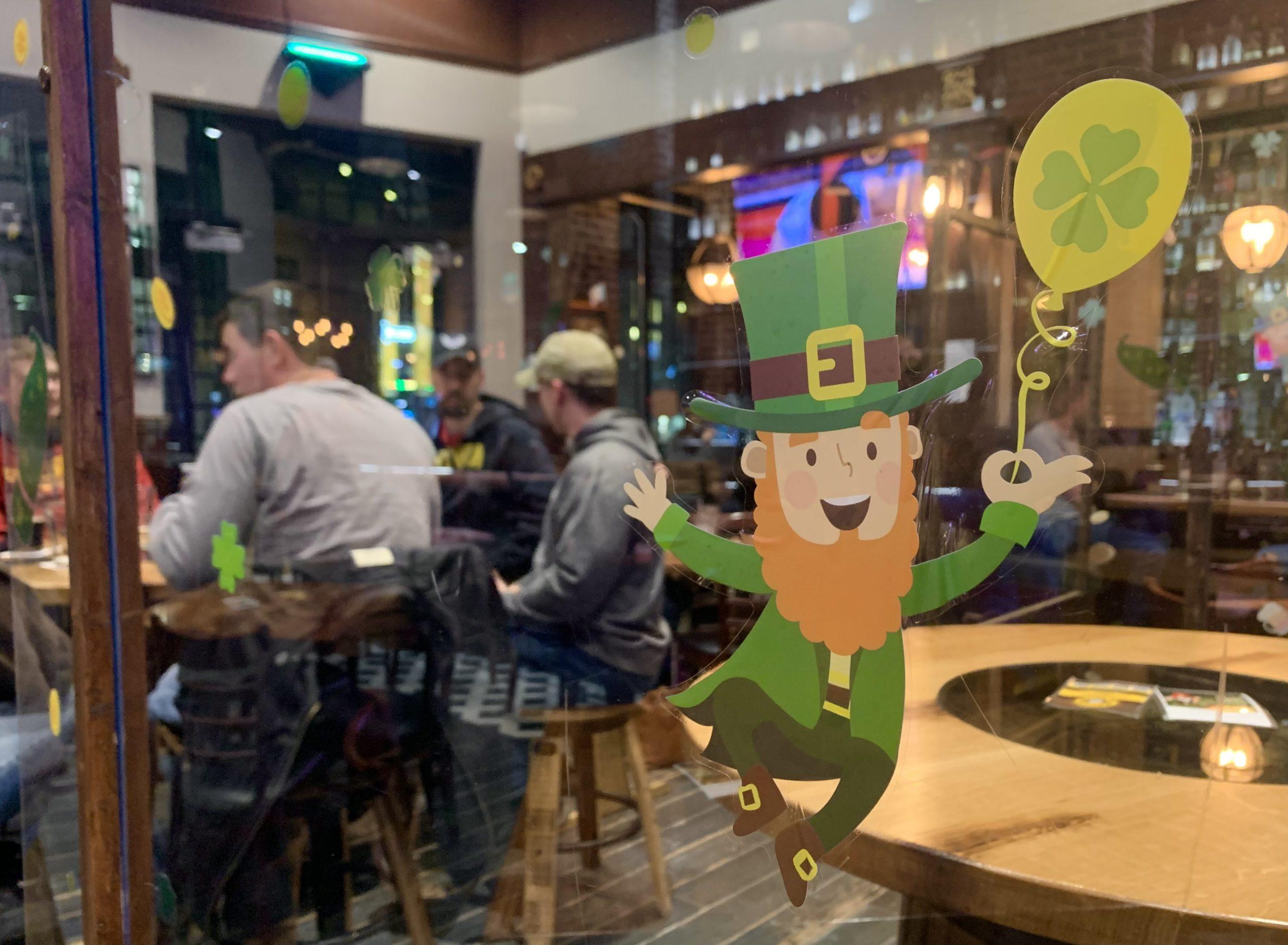 One year after shutdown, Iowa restaurants, bars celebrate St. Patrick's Day