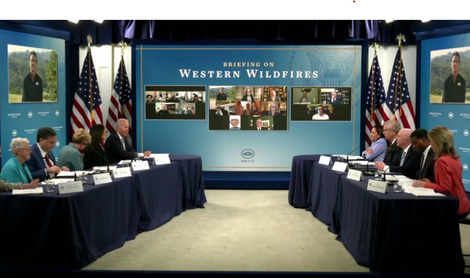 Biden, Western governors plan for 'severe' wildfire season