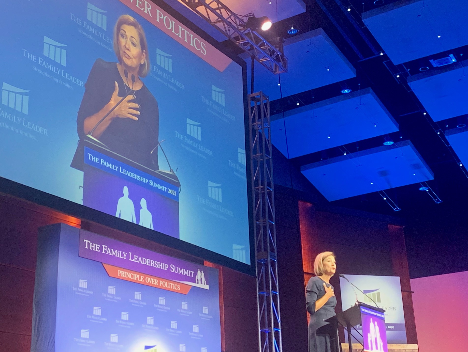 Iowa Republicans tout legislative successes at Christian conference